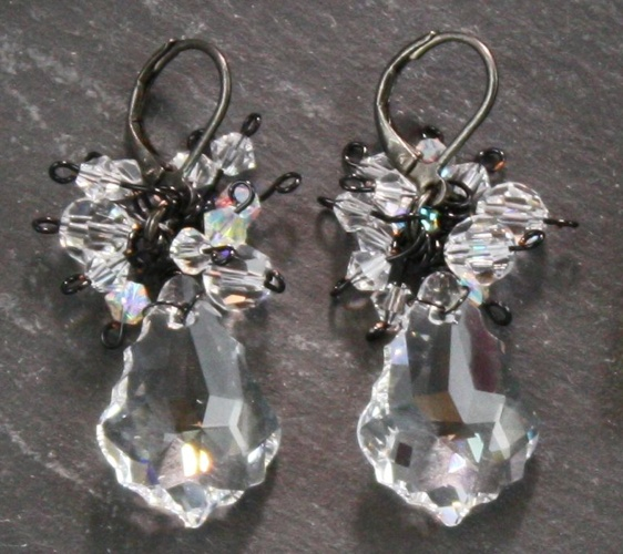 Anna Crystal Earrings