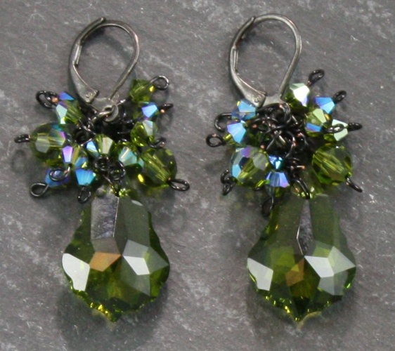 Anna Olivine Earrings