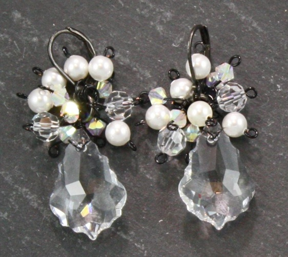Antoinette Crystal Earrings