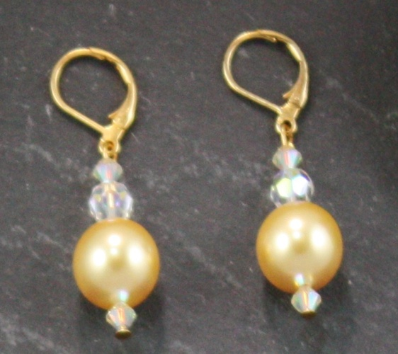 Coco Bright Gold Earring