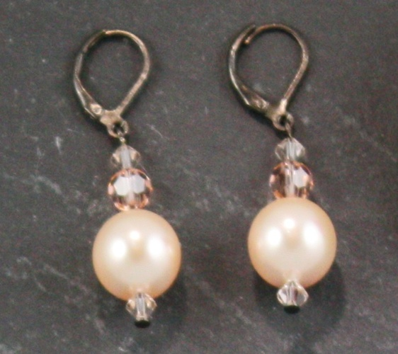 Coco Peach Earrings