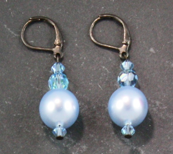 Coco Light Blue Earrings