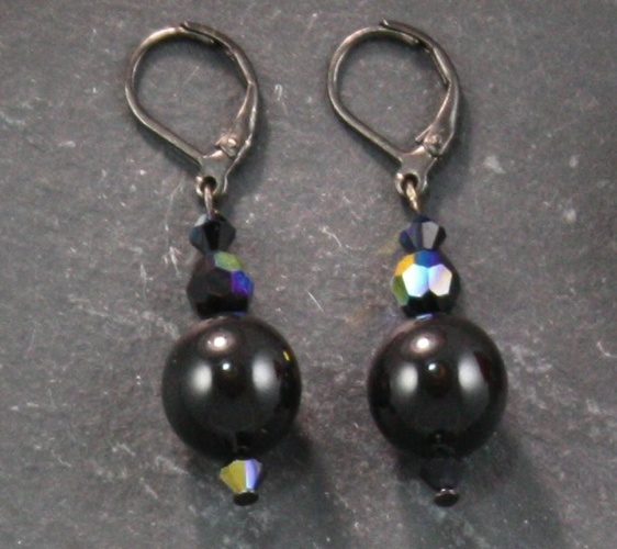 Coco Mystic Black Earring