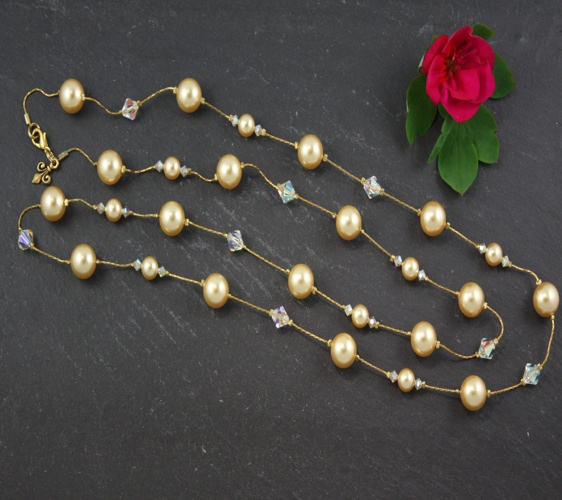 Coco Bright Gold Necklace