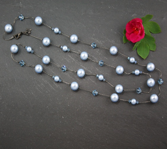 Coco Light Blue Necklace
