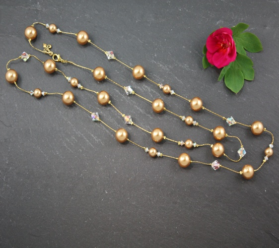 Coco Gold Necklace