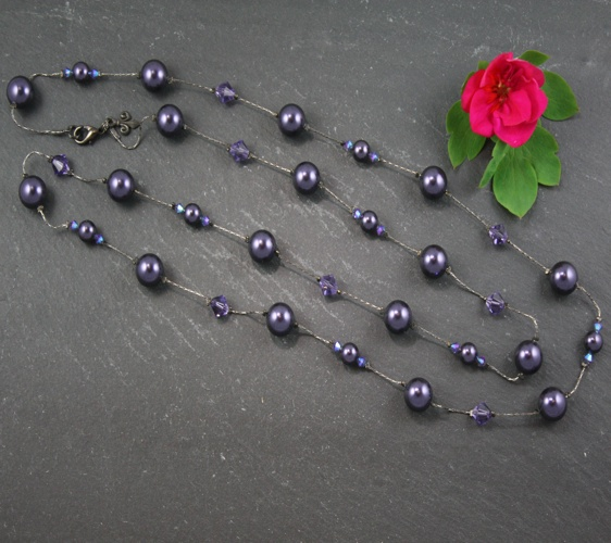 Coco Purple Necklace