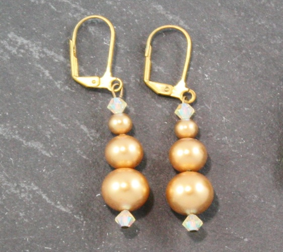 Grace Gold Earrings