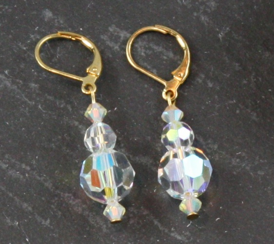 Jackie Aurora Borealis Earrings